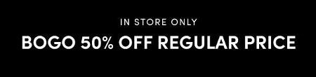 BOGO 50% Off Regular Price