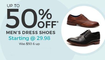 14ce5f28c0a Up to 50% Off Men's Dress Shoes at Stein Mart | Oglethorpe Mall