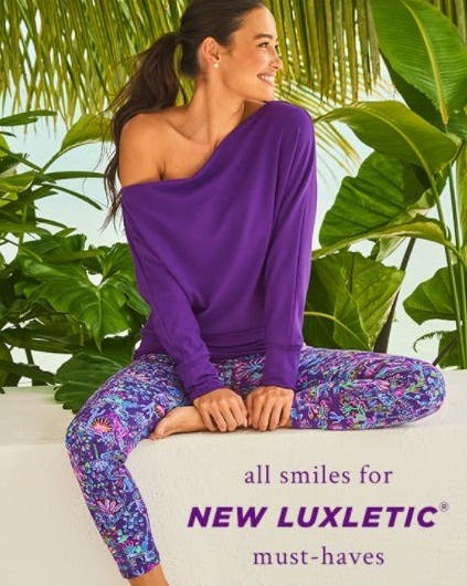 Just In: Luxletic Layers from Lilly Pulitzer