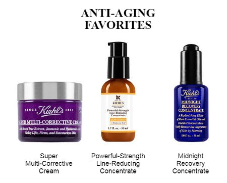 Our Anti-Aging Favorites from Kiehl's