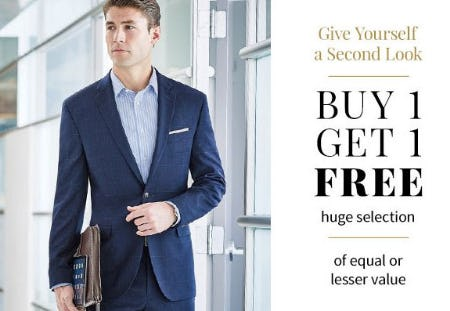Buy 1, Get 1 Free from Jos. A. Bank