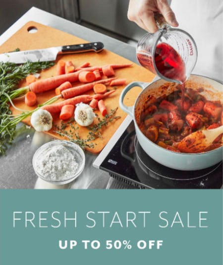 Up to 50% Off Fresh Start Sale from Sur La Table
