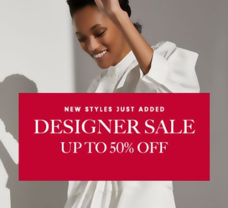 Designer Sale Up to 50% Off from Neiman Marcus