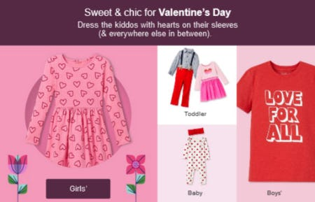 Sweet & Chic for Valentine's Day from Target