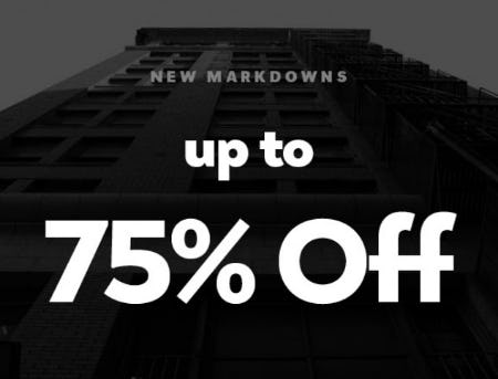 Up to 75% Off New Markdowns from Shiekh