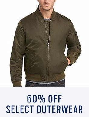 60% Off Select Outerwear