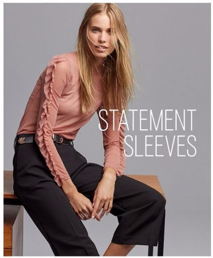 The Trend We Love: Statement Sleeve
