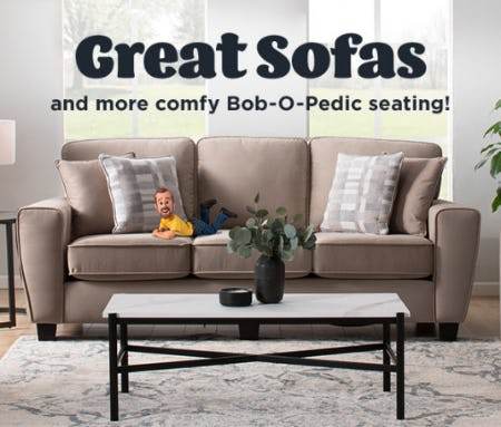Living Room Furniture from Bob's Discount Furniture