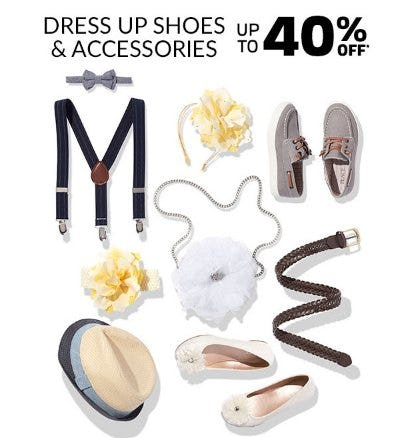Dress Up Shoes & Accessories up to 40% Off from The Children's Place