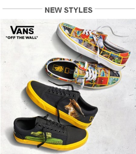 Shop Vans New Arrivals from Zumiez