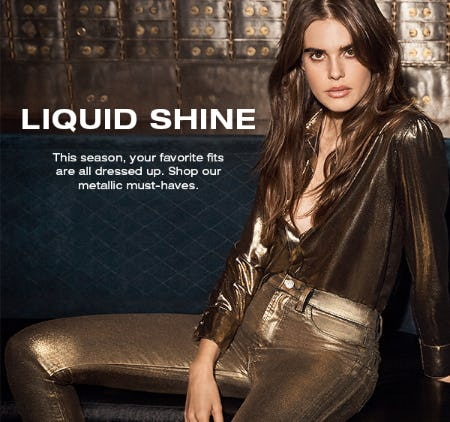 Must-Have Metallics from 7 for All Mankind