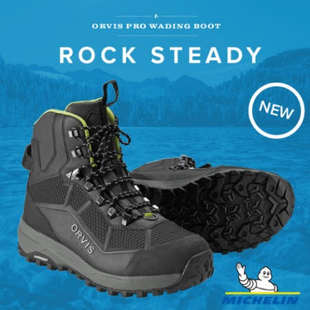 The Orvis Pro Wading Boot