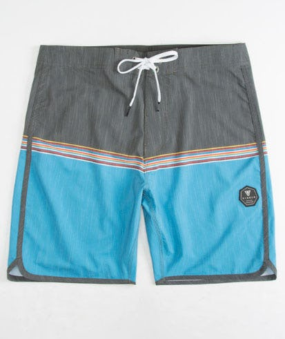 Vissla Dredges Charcoal Mens Boardshorts from Tilly's