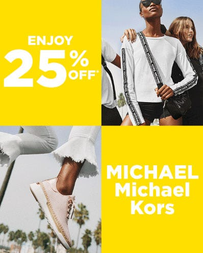 25% Off Select Michael Kors Items from Lord & Taylor