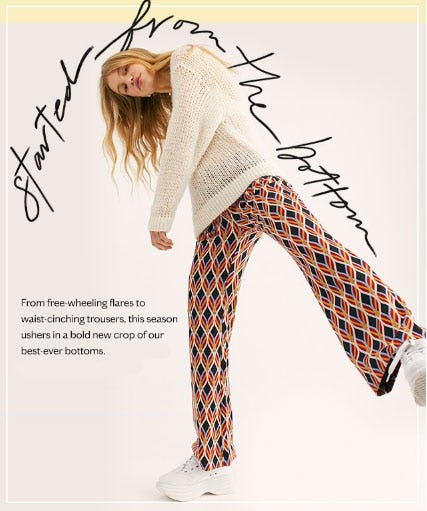 Shop New Bottoms from Free People