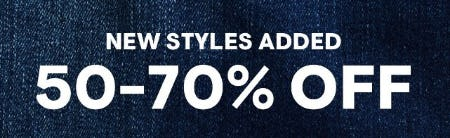 50-70% Off Select Styles from Aéropostale