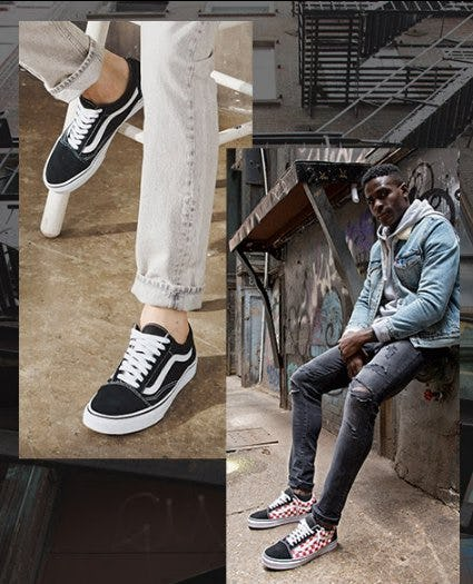 Vans for Every Fit from Footaction