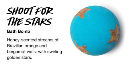 Shoot For The Stars Bath Bomb from LUSH