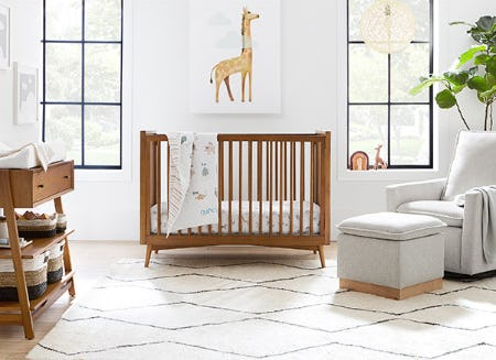Mid-Century Nursery Collection from Pottery Barn Kids