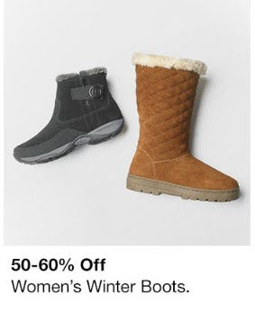 50-60% Off Women's Winter Boots from macy's