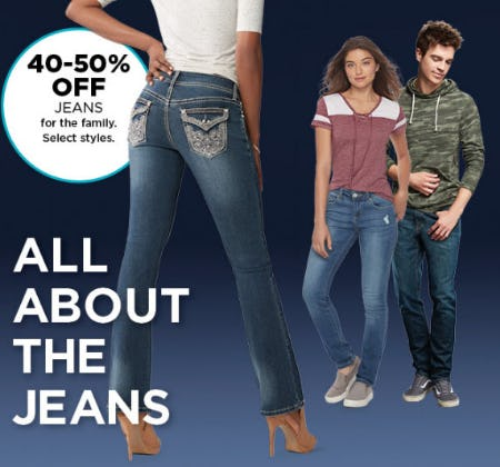 40-50% Off Jeans