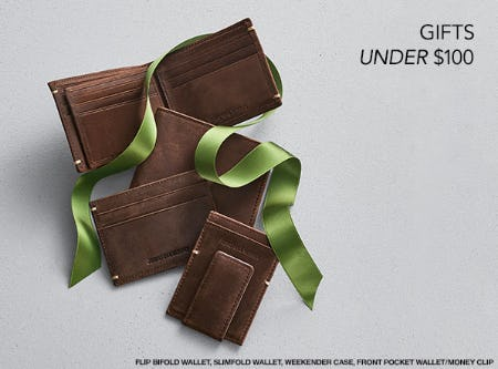 Gifts Under $100 from JOHNSTON & MURPHY