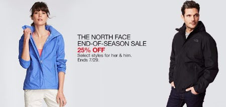 The North Face End-of-Season Sale