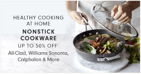 Non-Stick Cookware up to 50% Off from Williams-Sonoma