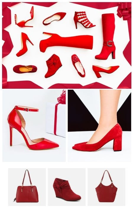 Red: The Color that Makes an Extrance from DSW Shoes