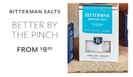 Bitterman Salts From $9.95 from Sur La Table