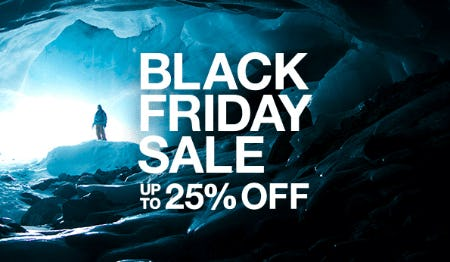 Black Friday Sale Up to 25% Off from The North Face