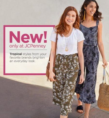 Shop New Arrivals from JCPenney