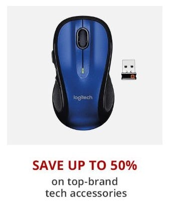 Up to 50% Off Top-Brand Tech Accessories from Office Depot