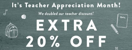 Teacher Discount Up to 20% Off from Ashley Stewart