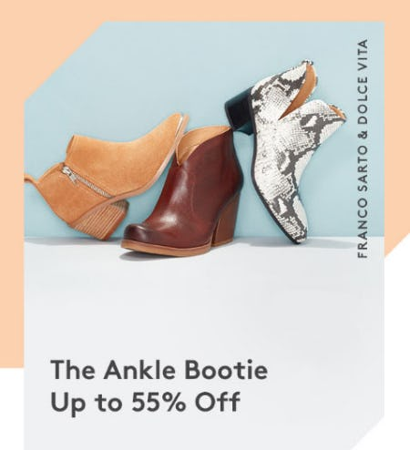The Ankle Bootie Up to 55% Off from Nordstrom Rack