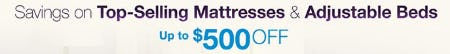 Up to $500 Off Top-Selling Mattresses & Adjustable Beds from Costco