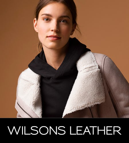Fall Fashion Event, Up To 80% Off! from Wilsons Leather