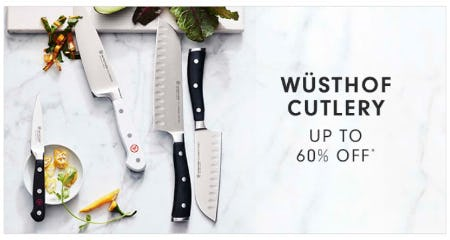 Wüsthof Cutlery up to 60% Off