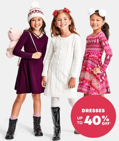 Up to 40% Off Dresses from The Children's Place