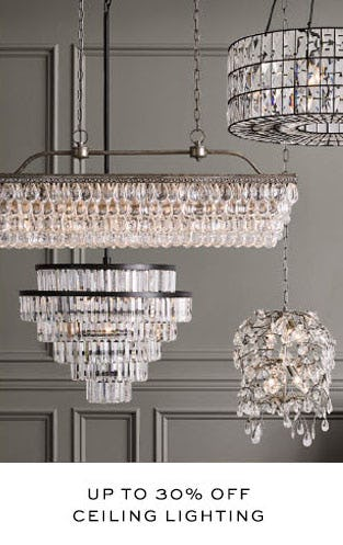 Up to 30% Off Ceiling Lighting from Pottery Barn