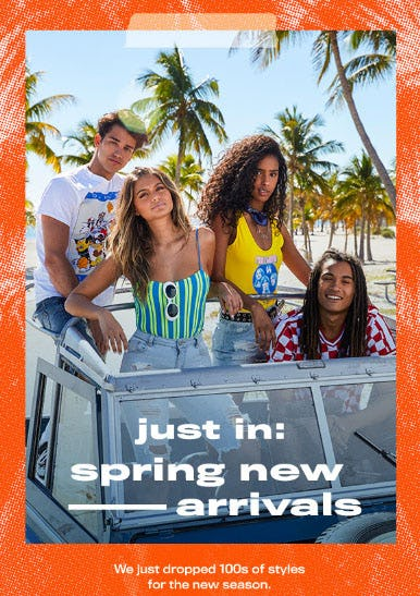 Just In: Spring New Arrivals from rue21