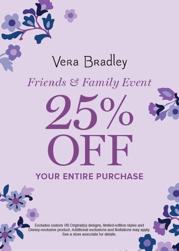 Just for YOU! from Vera Bradley