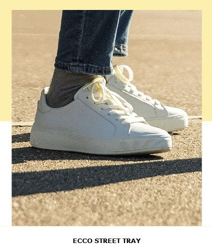 New Sneakers, Old-School Street-Style from ECCO