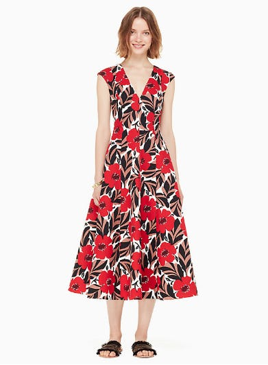 Poppy Field Structured Dress from kate spade new york