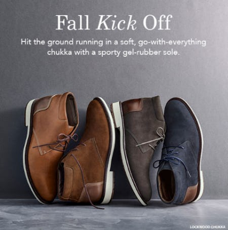 Fall Kick Off from JOHNSTON & MURPHY
