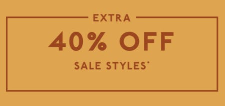 Extra 40% Off Sale Styles from Madewell