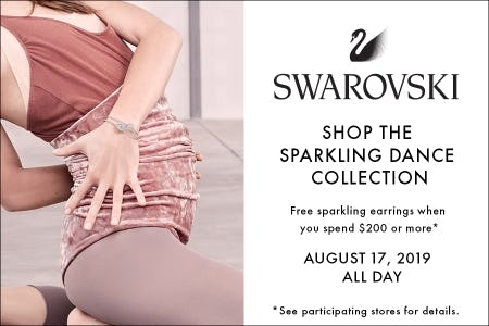 Sparkling Dance Event - Free Earrings with $200+ Purchase