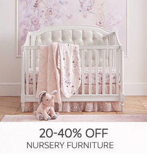 20-40% Off Nursery Furniture from Pottery Barn Kids