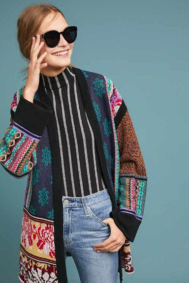 Patchwork Kimono Cardigan from Anthropologie