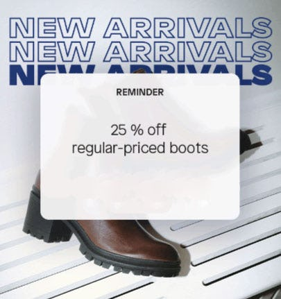 25% Off Regular-Priced Boots from ALDO